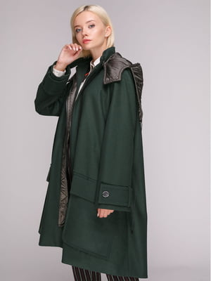 Пальто зеленое | 5149392