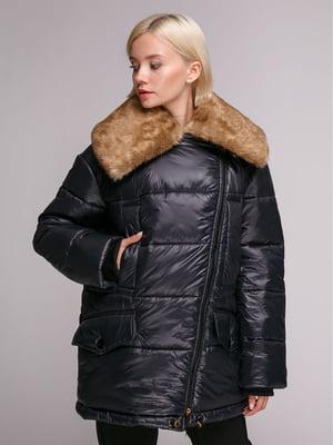 Куртка чорна | 5149378