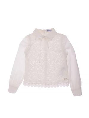 Блуза молочного цвета | 5152705
