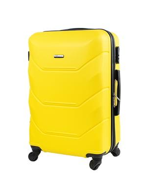 Валіза велика жовта | 5152891