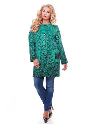 Пальто зеленое   5152919