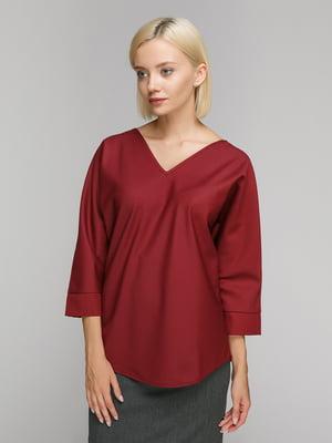 Блуза бордова | 4923713
