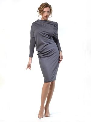 Платье графитового цвета   4723957