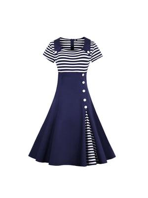 Платье синее | 5154058
