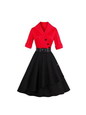 Сукня чорно-червона | 5154059