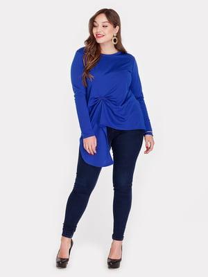 Блуза цвета электрик | 3747201