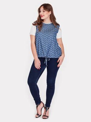 Блуза с принтом | 4238968