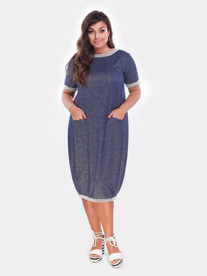 Платье синее | 4977636