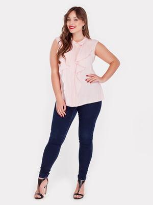 Блуза розовая | 5082180