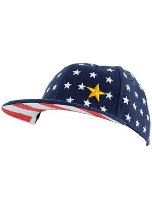 Бейсболка «Америка» темно-синяя | 5104243