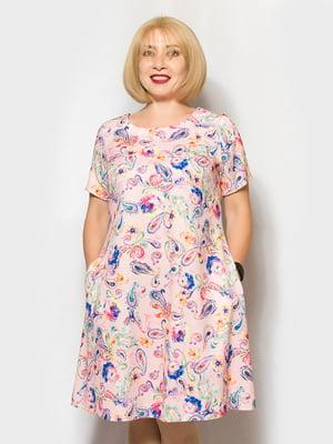 Платье розовое | 5154877