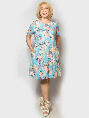 Сукня блакитна | 5154878