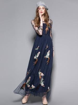 Сукня темно-синя | 5155171
