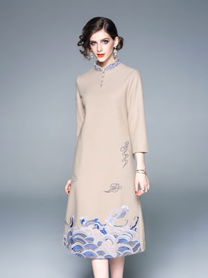 Сукня абрикосового кольору | 5155215