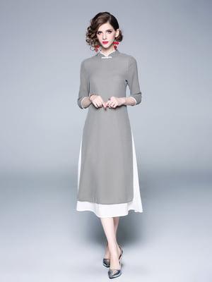 Сукня чорно-біла | 5155219