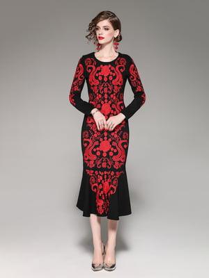 Сукня чорно-біла | 5155244