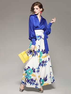 Комплект: блуза и брюки | 5155280
