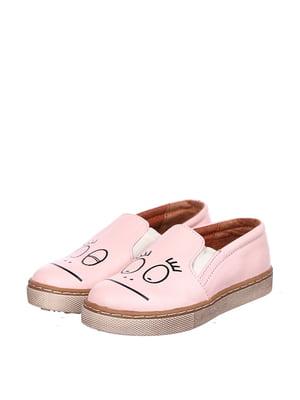 Слипоны розовые | 5155320
