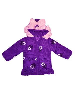 Куртка фіолетова | 4859323