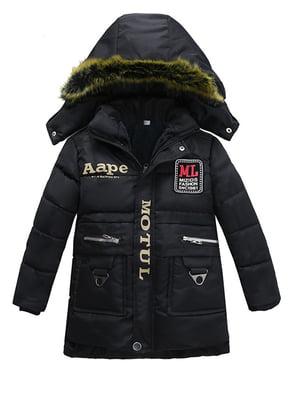 Куртка чорна | 4872708