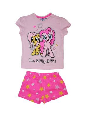 Піжама: футболка і шорти | 5152335