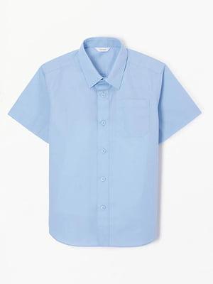 Рубашка голубая | 5155369