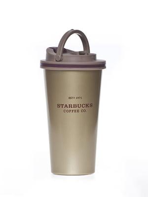 Термокружка кофейного цвета | 5155468
