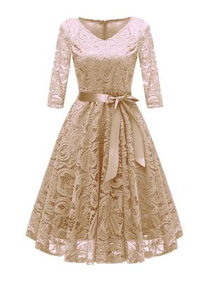 Сукня бежева | 5156169