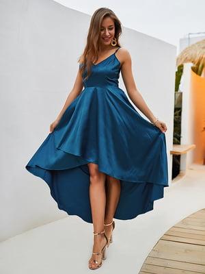 Платье синее | 5157996