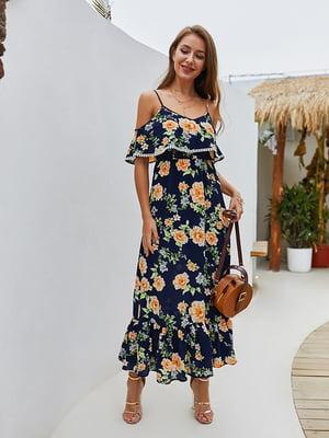 Платье в цветочный принт   5158009