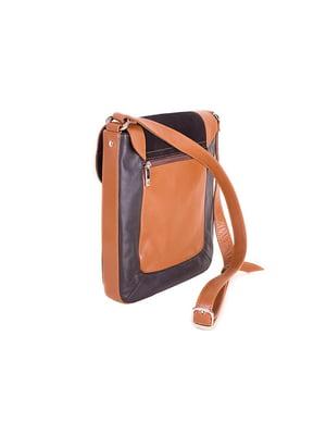 Сумка-планшет коричнева | 5156304