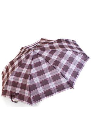 Зонт-полуавтомат коричневый | 5156401