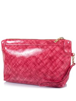Косметичка рожева в принт | 5157010