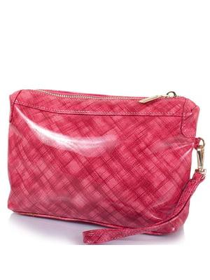 Косметичка рожева в принт | 5157012