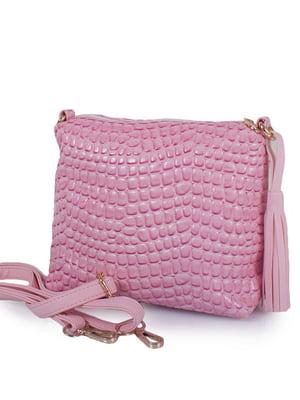 Сумка-клатч розовая | 5157019