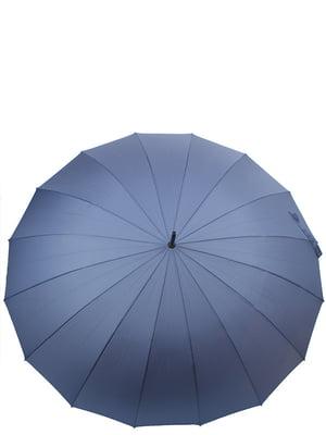 Парасолька-тростина напівавтомат синя | 5157256