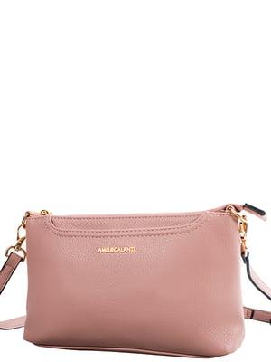 Сумка-клатч рожева   5157314