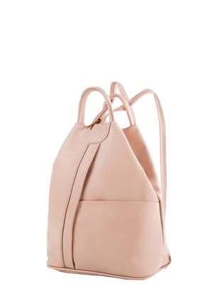 Рюкзак пудрового цвета | 5157446