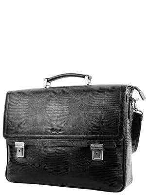 Портфель чорний | 5157642