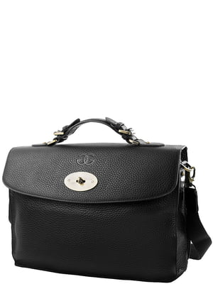 Портфель чорний | 5157645