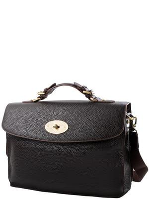 Портфель чорний | 5157647