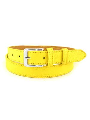 Ремінь жовтий | 5158672