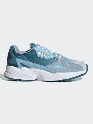 Кроссовки голубые | 5150540