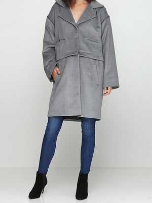 Пальто серое | 5161609