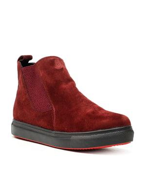Ботинки красные   5151613