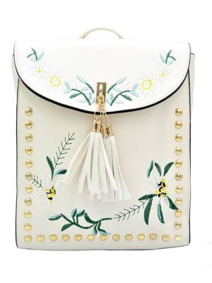 Рюкзак-сумка білий | 5161936