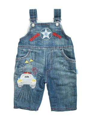 Комбінезон джинсовий синій | 5162447