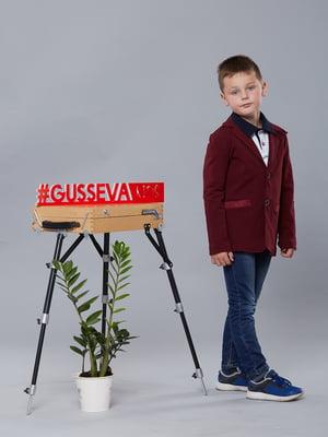 Пиджак бордовый | 5162628
