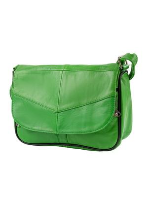 Сумка-почтальйонка зеленая | 5162830