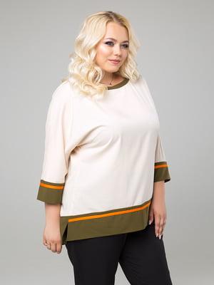Блуза цвета слоновой кости   5153363